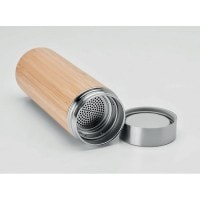 All products Double wall SS/bamboo bottle