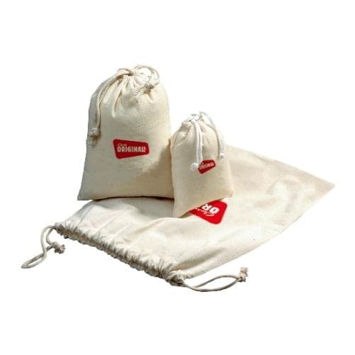 Bombaž Bombažna vrečka z vrvico – L