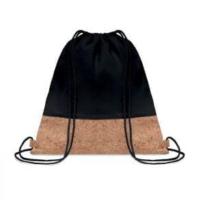 Backpacks Drawstring bag cork details