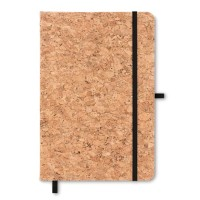 All products A5 notebook with cork cover