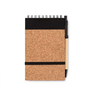 All products A6 cork notebook with pen