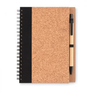 All products Cork notebook with pen