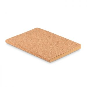 All products A5 cork soft cover notebook