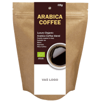 Coffee Organic Arabica coffee, 125 g