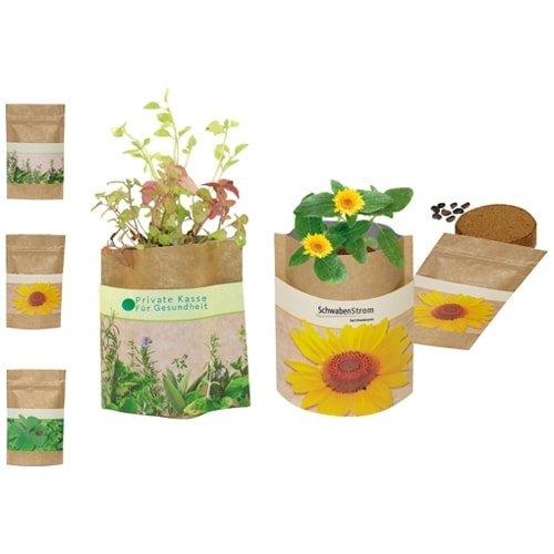 Različna embalaža Rastlina v natur embalaži