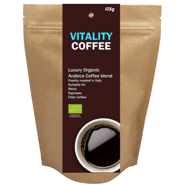 Ekoman Bio Vitality kava – vitalnost, 125 g