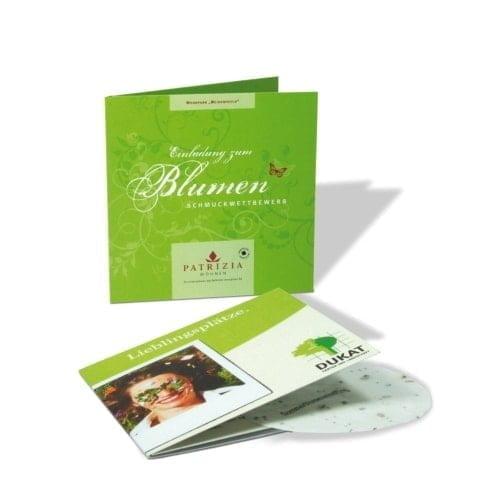 Papir s semeni Zelena kartica
