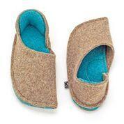 Felt Closed-heeled slippers