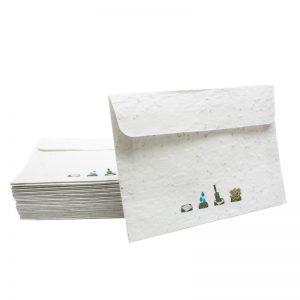 Papir s semeni Kuverta iz papirja s semeni