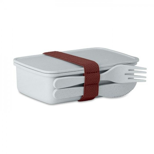 Kitchen Lunch box in bamboo fibre /PP
