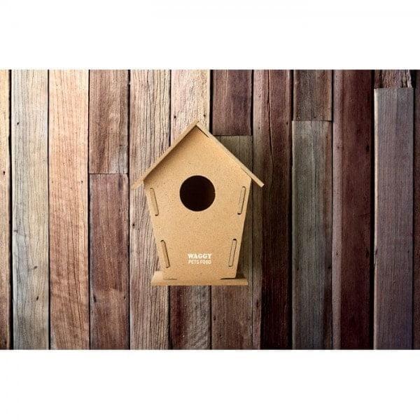 Garden & Balcony Wooden bird house