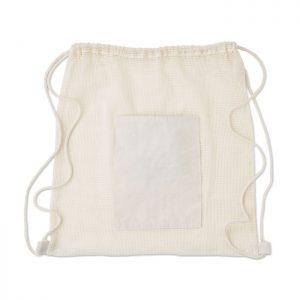 All products Drawstring cotton mesh bag