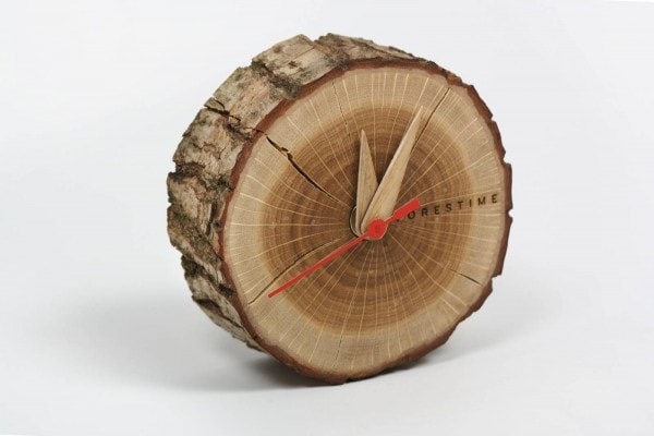 Wood Wooden table clock