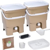 Recycling Bokashi Organko – two bins for composting and waste sorting