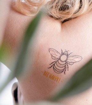 Ne zamudite Biorazgradljiv tattoo