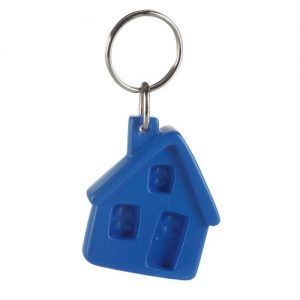 Keyrings Recycled keychain – little house