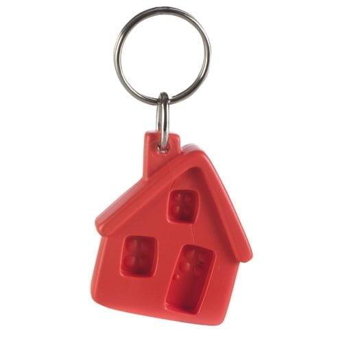 Obeski Recikliran obesek za ključe – hiška