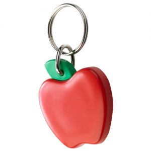 All products Recycled keychain – apple