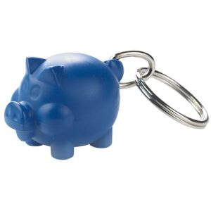 Keyrings Recycled keychain – piggy