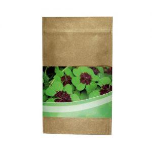 Različna embalaža 4-peresne deteljice v natur embalaži