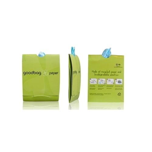 Biorazgradljive Žepne vrečke iz bioplastike in recikliranega papirja – V pismu
