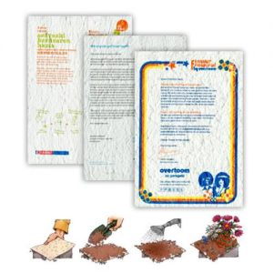 By Mail Seed Mat Letter