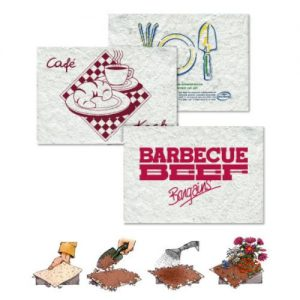 By Mail Seed Mat Placemats