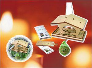Garden & Balcony Birds' house kit