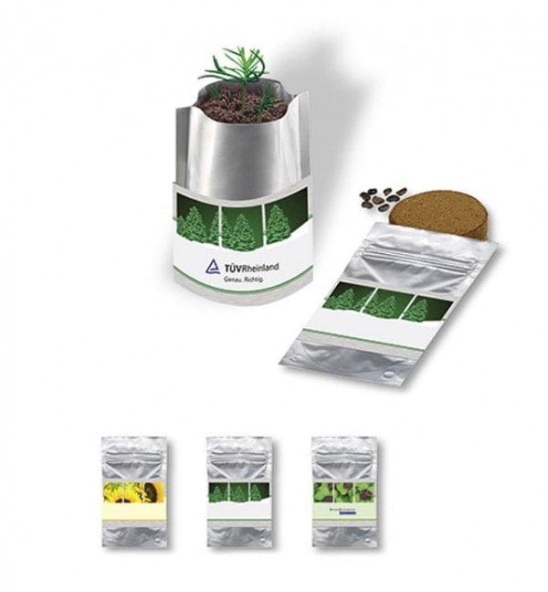 Cvetlični lončki, škatlica, korito Semena sončnice v vrečki