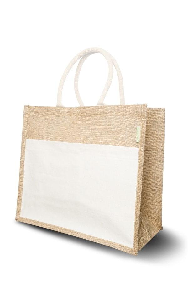 Juta Nakupovalna vrečka iz jute – combi