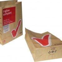 Biorazgradljive Papirnata eko vrečka brez ročk – biorazgradljiva