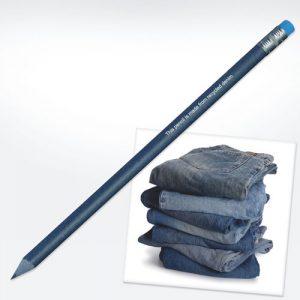 Svinčniki Svinčnik iz recikliranega jeansa