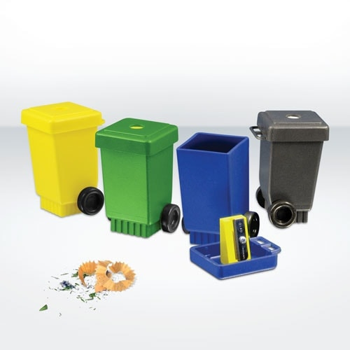 All products Green & Good Wheelie Bin Pencil Sharpener – Recycled