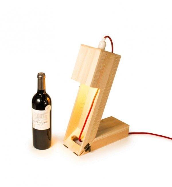 Ekoman Stojalo za vino – lučka