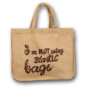 All products Jute bag with slogan