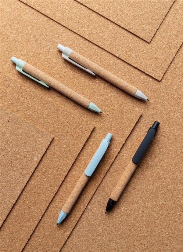 Pens Pen made of wheat fiber and cork