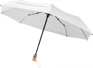 All products Bo 21″ fold. auto open/close recycled PET umbrella