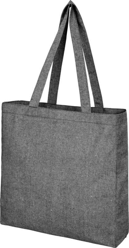 Recikliran bombaž Reciklirana torba s širokim dnom 210 g/m2