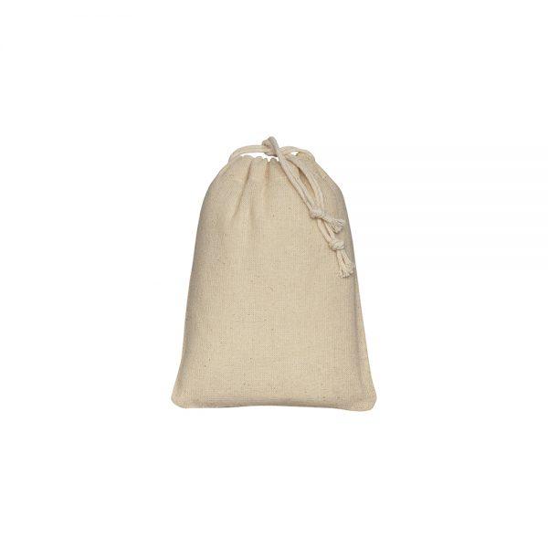 Bombaž Bombažna vrečka na zatezno vrvico XS