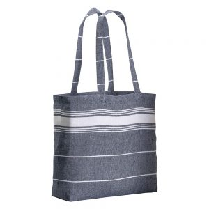 All products COTTON SHOPPING BAG FOUTA EFFECT 48X35X12CM
