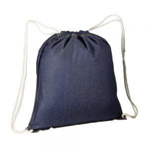 Backpacks DENIM DRAWSTRING BAG 38X42