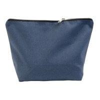 Kozmetične torbice Toaletna torbica iz bombaža na zadrgo
