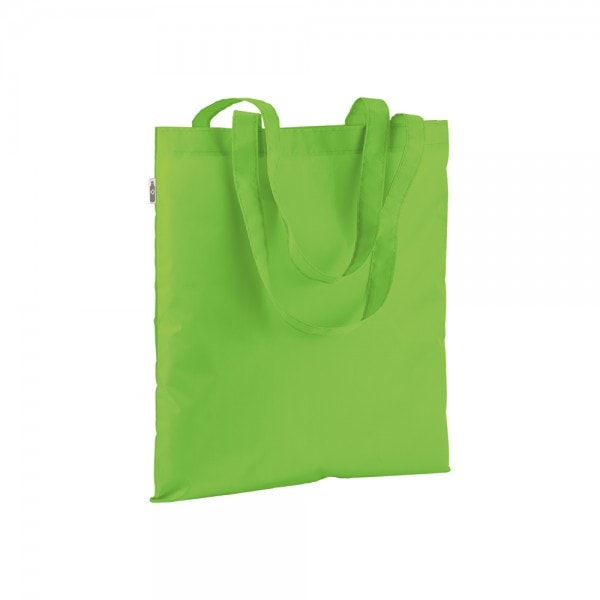 PLA - reciklirana plastika Nakupovalka iz reciklirane plastike z dolgimi ročaji