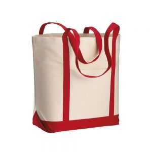 All products CANVAS SHOPPING BAG 50X38X18CM NATURAL+COLORS