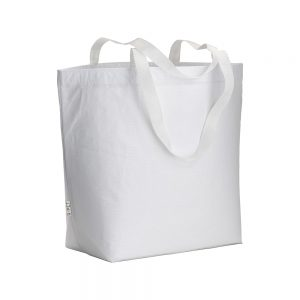 All products LAMINATED RPET SHOPPING BAG WITH POLYESTER HANDLES
