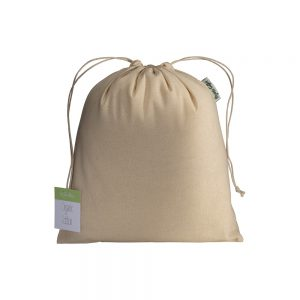 Organic Cotton ORGANIC COTTON DRAWSTRING BAG 25X30CM