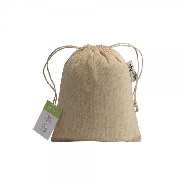 All products ORGANIC COTTON DRAWSTRING BAG 15X20CM