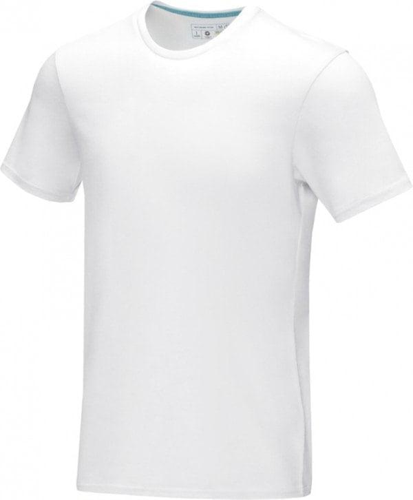 Majice Moška majica s kratkimi rokavi iz recikliranega organskega materiala