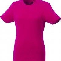 Majice Ženska majica s kratkimi rokavi iz recikliranega organskega materiala