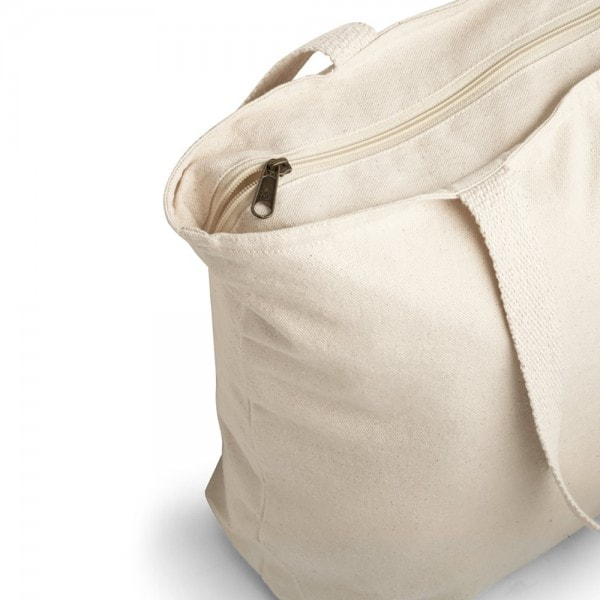 Bombaž Bombažna vrečka na zadrgo z notranjim žepom